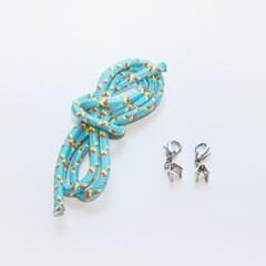 마스크 스트랩 목걸이 줄 만들기 DIY 세트 5color 갓샵 고리 걸이 끈