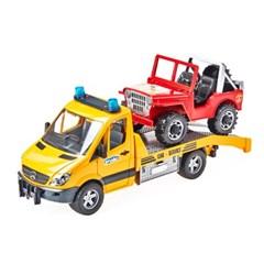 하바 벤츠 견인트럭과 지프차_(301821194)