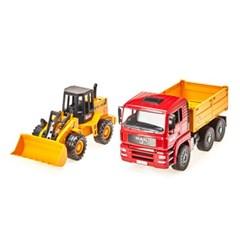 하바 Man 트럭과 로더(02752)_(301821193)