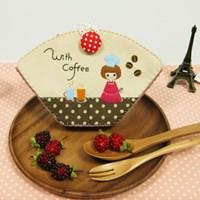 [DIY패키지상품] 커피소녀 커피필터 케이스