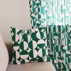 KELLY GREEN MONACO 비비드 클래식 쿠션 50x50