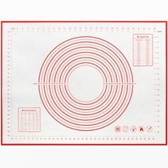 세븐프리 실리콘 반죽매트 초특대형80x60cm 레드_(3679878)