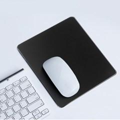 디자인 알루미늄 마우스패드(23x18cm) (블랙)