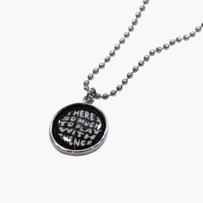 PENDENT NECKLACE_LETTERING