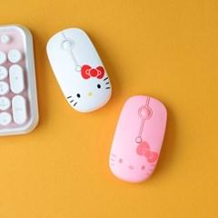 헬로키티 저소음 무선 마우스(마우스패드증정)
