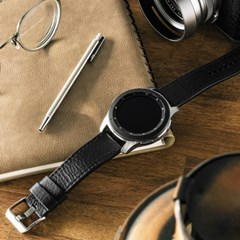 갤럭시워치3/갤럭시워치/갤럭시액티브2 링케 레더원 시계줄 밴드