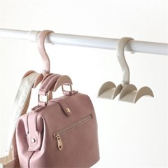 파스텔 회전 가방걸이 핸드백걸이