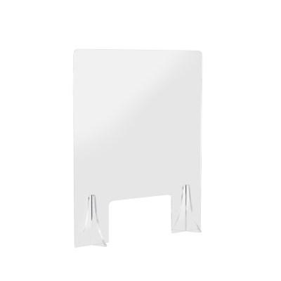 식당 고정식 가림막 크기60x70cm 창구(30x15)