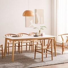 모딜리아니 M76 세라믹 원목 6인 식탁세트(의자)