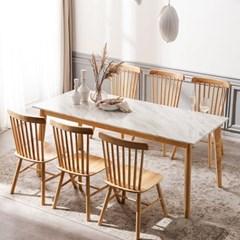 모딜리아니 M88 대리석 원목 6인 식탁세트(의자)