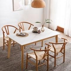 모딜리아니 M76 세라믹 원목 4인 식탁세트(의자)