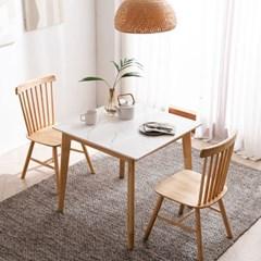 모딜리아니 M88 세라믹 원목 2인 식탁세트(의자)