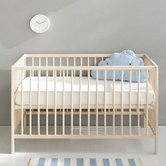 마켓비 NINO 원목유아침대 60x120 소나무_(104610061)