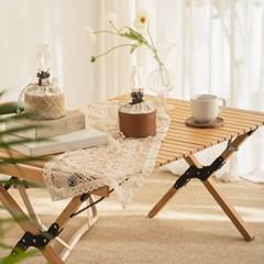 비치우드 롤 캠핑 테이블