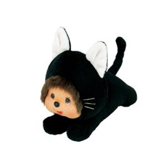 Sprawl Monchhichi Kitten Black S