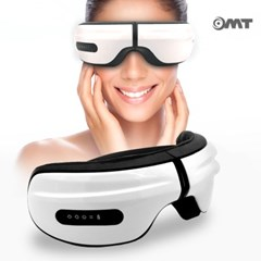 OMT 충전식 휴대용 온열 진동 무선 눈마사지기 눈안마기