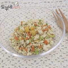 도꾸네 강아지 수제간식 닭고기 야채화식 100g
