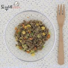 도꾸네 강아지 수제간식 소고기 야채화식 100g