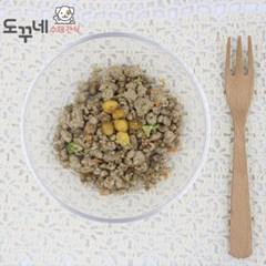 도꾸네 강아지 수제간식 오리고기 야채화식 100g