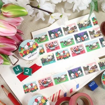 [마요] 마요의 일상ver.2 우표 마스킹테이프
