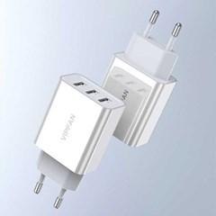 [S2B] VIPFAN 3포트 USB 충전기(CG-K3)