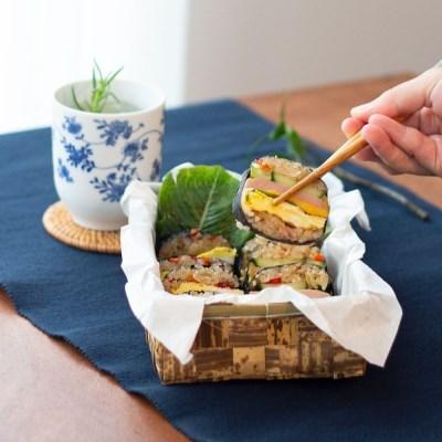 [모던밀] 든든 밥스틱 6가지맛 (8개입) 주먹밥 직장인 아침밥