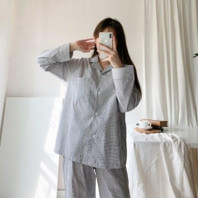 올두잇 심플 스트라이프잠옷
