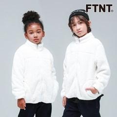 FTNT 키즈 슈퍼웜 화이트 퍼 점퍼