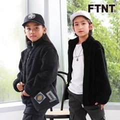FTNT 키즈 슈퍼웜 블랙 퍼 점퍼