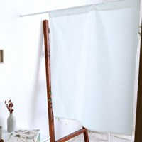 내추럴 화이트 린넨 가리개커튼 ( 2size/2type )