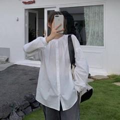 [모어댄베러]브링비 루즈핏 노카라셔츠