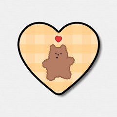 yellow fluffy gummy 하트톡♥
