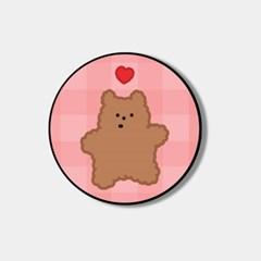 pink fluffy gummy 스마트톡