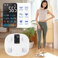 CANZ S11 인바디 체지방 체중계 어플연동 21가지 신체지수 측정