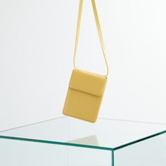 FENNEC ACCORDION BAG - HAZE YELLOW