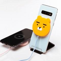 카카오프렌즈 흡착식 무선충전패드 충전기