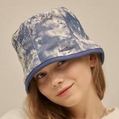 PO TIE DYE BUCKET HAT(BLUE)_(4305380)