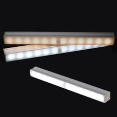 은은한 무선 건전지 자석 LED 자동 센서등