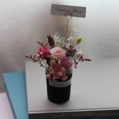 프리저브드 미니장미꽃화분