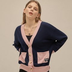 PO COLOR CARDIGAN(NAVY)_(4305450)