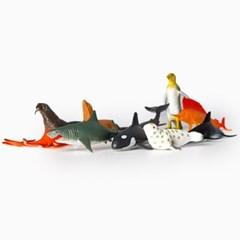 고운물 어항꾸미기 피규어 바다동물 세트 (12p)_(1168187)