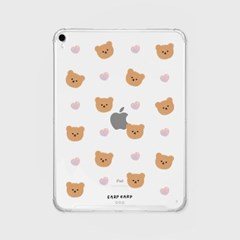 Dot love and bear(아이패드-투명)_(1652883)