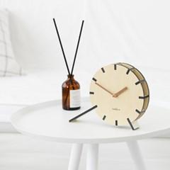 아날로그 감성과 포인트가 살아있는 테이블 톡 탁상시계