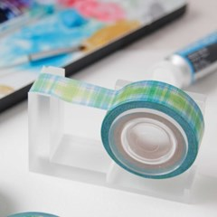 Painting Check Masking Tape [Sea Green]