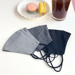 빨아쓴은 숨쉬기편한 40수 와이어 양면 일반 마스크
