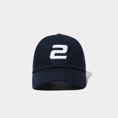 23.65 2LOGO BALL CAP NAVY
