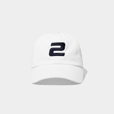 23.65 2LOGO BALL CAP WHITE