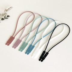 국산 실리콘 마스크스트랩 마스크목걸이 성인 아동 6color