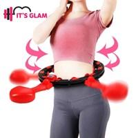잇츠글램 스마트 다이어트 3fit 지압 훌라후프