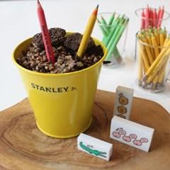 [꼬까참새] 씨앗몽당연필+지우개